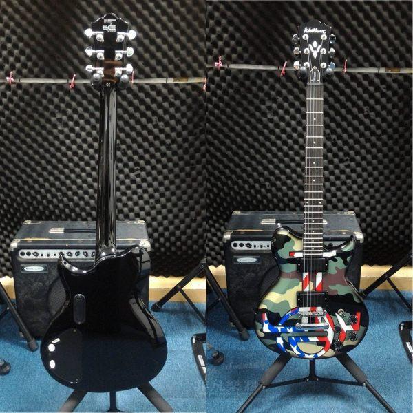 WASHBURN尼克Catanese /偶像系列WI64ANC電吉他n迷彩琴身質感加倍!n福利品出售