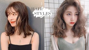 2020日韓初秋「中長髮」捲髮範本!復古捲度再回歸,外八捲日韓妞都超愛