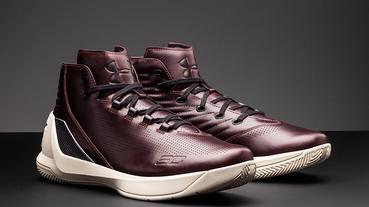 新聞分享 / 慶祝南卡羅來納大學晉級 NCAA 四強 Under Armour 推出 Curry 3 Lux 'Oxblood Leather'