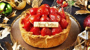 超豪邁一次把22顆大草莓堆到蛋糕上!《PABLO》 推出草莓控最愛聖誕甜點~豪華版草莓派對聖誕起司塔準備征服大家的心!