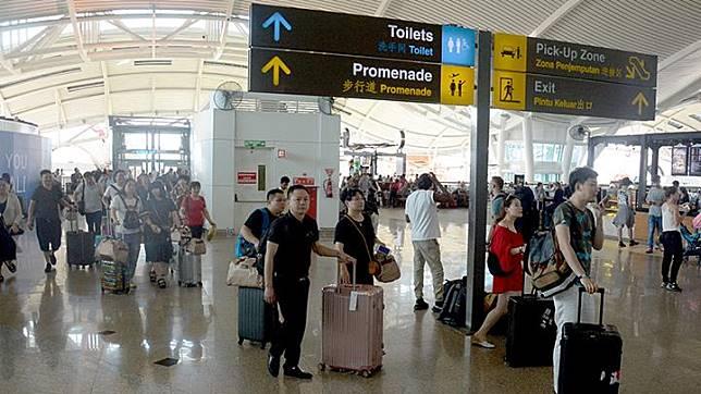 Ngurah Rai International Airport, Bali. ANTARA/Wira Suryantala