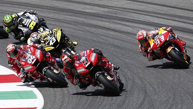 Petrucci Bicara Persaingan Sengit dengan Marquez dan Dovizioso di MotoGP Italia