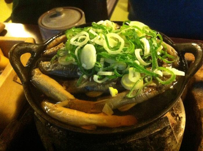 日本冬至文化 泥鰍鍋