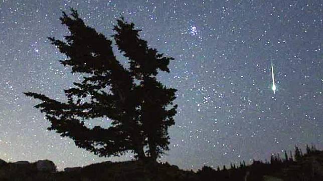 Hujan meteor Geminid. (nasa.gov)