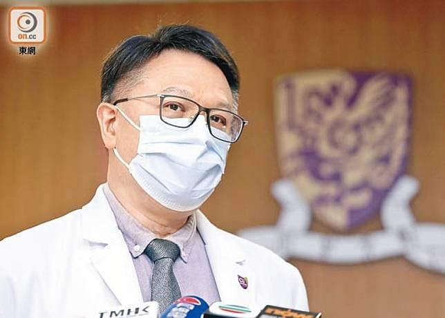 許樹昌指當局要考慮短期內重新停課,同時將防疫措施收緊至3月的水平。
