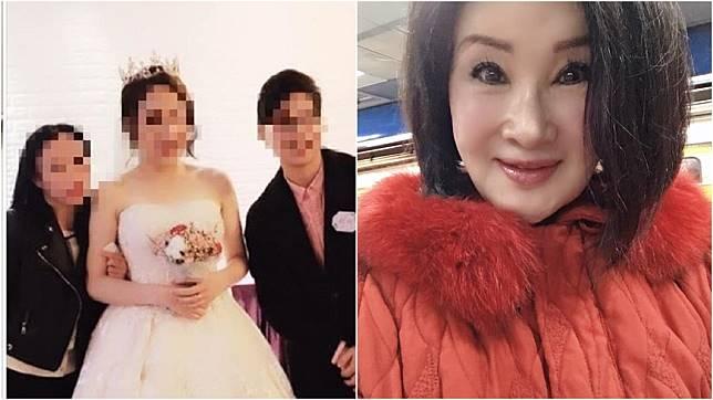 恬娃貼出新人照稱自己是婚禮主持人。(圖/翻攝自恬娃臉書)