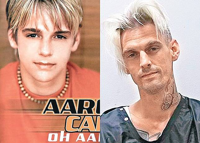 Aaron早於幼童期出道,近年多次因犯事被捕。