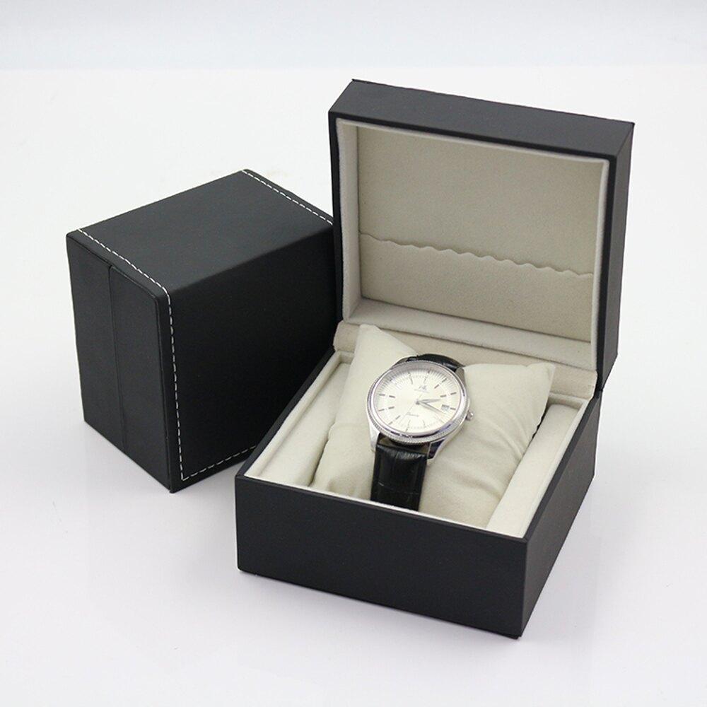 手錶盒 創意個性時尚PU皮手錶盒手鏈收納盒單個禮品首飾包裝盒禮物盒【全館82折】