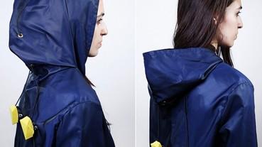 天氣熱自動拉開拉鍊的「外套」vs. 依心情繪出不同圖案的上衣