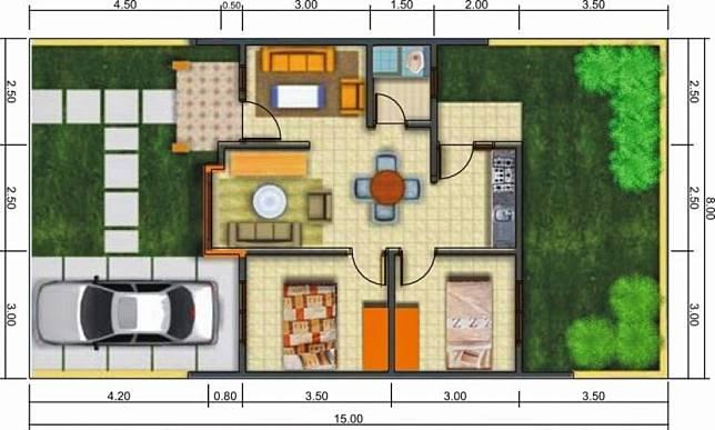 5 Desain Rumah Type 60 Terbaru Lebih Nyaman Dan Bikin Betah Dekoruma Com Line Today