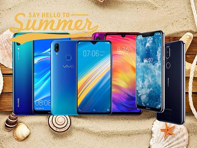 ส่องสมาร์ทโฟนเปิดตัวใหม่ไตรมาสแรกปี 2019 ราคาไม่เกิน 10,000 บาท มีรุ่นเด่นอะไรบ้าง