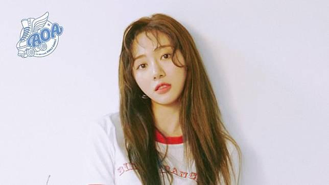 Kwon Mina saat menjadi anggota AOA (FNC Entertainment via Soompi)