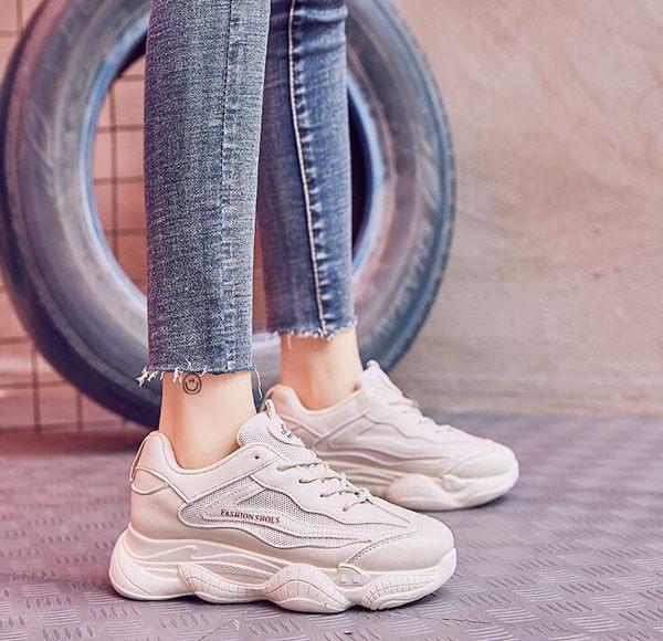 老爹鞋子女女鞋智熏鞋超火港風網紅學生運動鞋百搭潮-BB奇趣屋