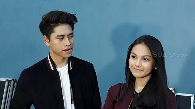Athalla Naufal dan Aisyah Aqilla ditemui di kawasan Mampang, Jakarta Selatan, Selasa (24/4/2018) [Suara.com/Wahyu Tri Laksono]