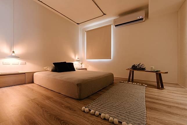 臥室翻新實例一: 改造後