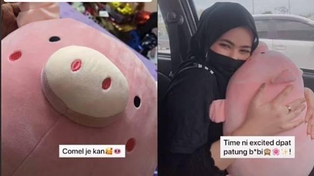 Nasib akhir boneka babi (tiktok.com/@qissnaa/)