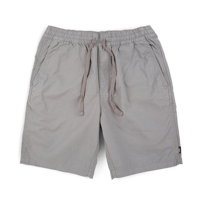 VANS - VN0A2ZYDAF1 RANGE SHORTS 素色 抽繩 短褲 (淺灰) 化學原宿
