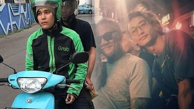 Kedua ayahnya artis besar Indonesia, putra Tio Pakusadewo & Deddy Dores rela jadi driver ojol