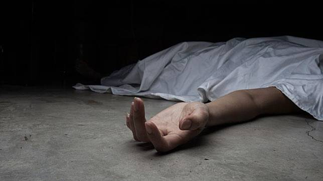 Dead body illustration. shutterstock.com