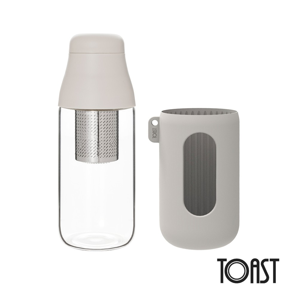 一起喝水變美麗! #PAW_TOAST- 質感玻璃材質可耐溫差120度- 18-8不銹鋼金屬濾網- 簡約山形設計抗菌濾網- 氣密瓶蓋、球形濾網口設計- 附矽膠隔熱套500ml 隨行款SCENE 玻璃水
