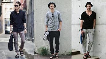 男性必看!5款超百搭夏季涼拖鞋