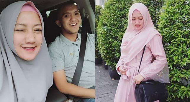 8 Inpirasi hijab istri Caisar, cocok untuk yang ingin tampil simpel
