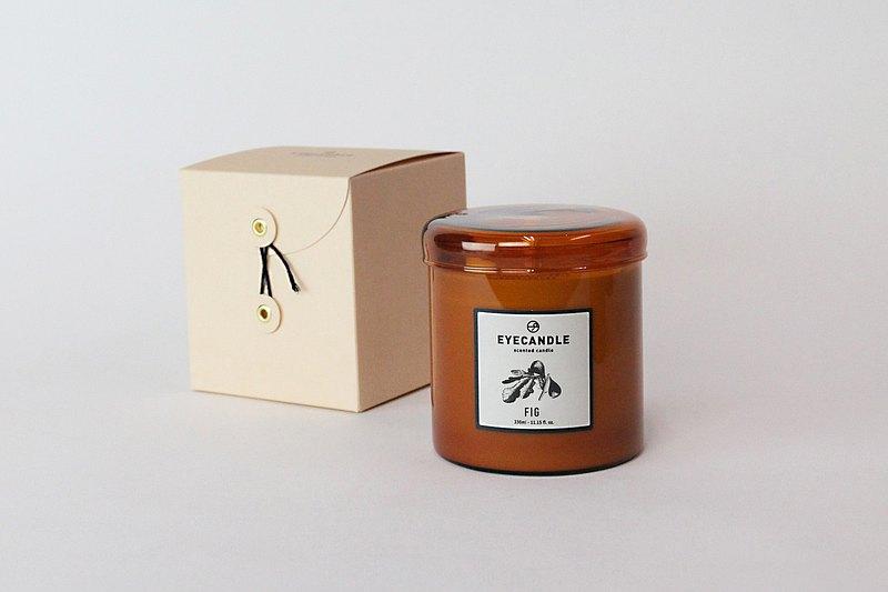 Eye Candle 香氛系列 - 茶色玻璃香氛蠟燭