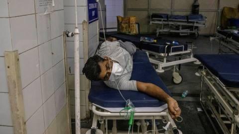 India Darurat Corona, Inggris Bakal Kirim Bantuan 1.000 Ventilator (1)
