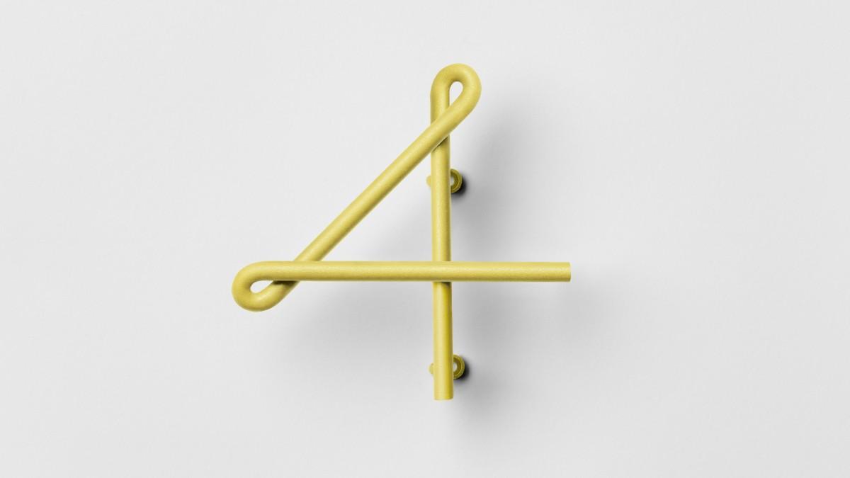 WIRE NUMBER 數字門牌由韓國設計師 Kyuhyung Cho 與瑞典設計師 Erik Olovsson 所設計,靈感來源自歐美舊街道與市中心形形色色的霓虹燈及門牌啟發,採用專門的生產方法,於