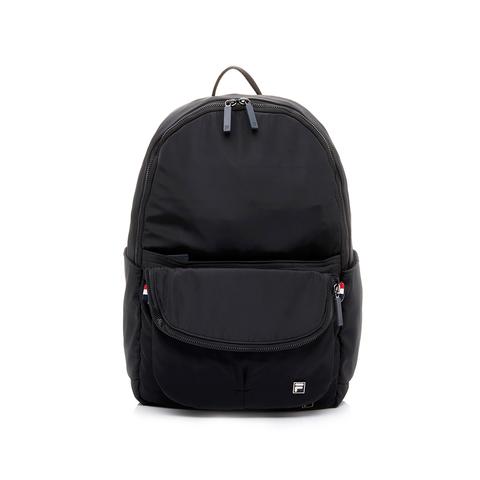 可拆式後背包,將前袋拉鍊拉開卸除後, 即可變成簡單實用的側背包。