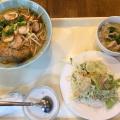 トムヤムクンラーメンセット - 実際訪問したユーザーが直接撮影して投稿した新宿タイ料理クルンテープ 本店の写真のメニュー情報