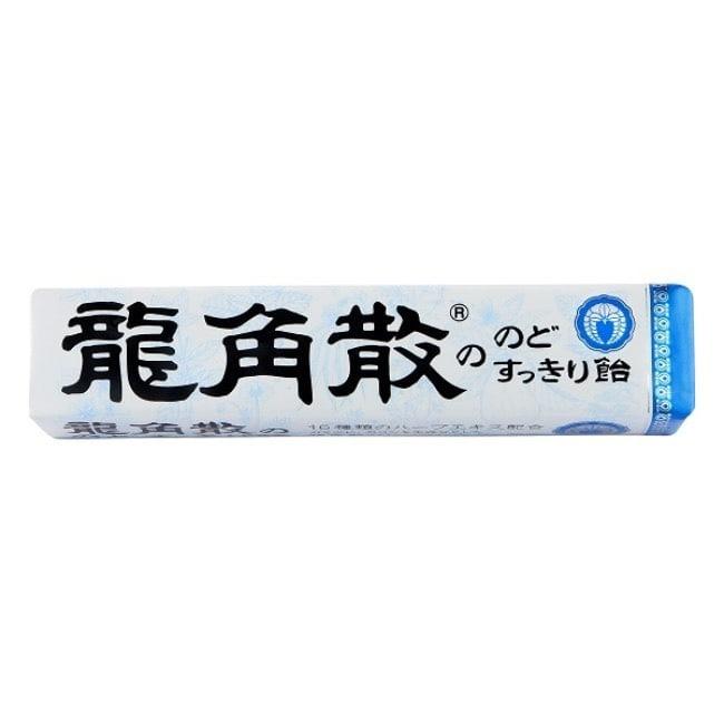 詳細介紹 商品規格 商品簡述 龍角散喉糖40g 品牌 LONGJIAOSAN 規格 40g 原產地 日本 深、寬、高 2.5x10.5x1.5cm 淨重 40 g 保存環境 室溫 是否可門市/超商取貨 Y 商品屬性 內容物名稱 龍角散喉糖40g 食品添加物名稱 天然食用色素(焦糖色素、葉綠素)、乳酸 營養成份 每一份量2.7G本包裝含30份熱量10.5 大卡蛋碳水化合物2.6G(糖2.0G) 製造日期 詳見外包裝 有效日期 詳見外包裝 包裝份量 40g 內容量 40g 投保產品責任險 1402第072050245號 注意事項 請置於乾燥陰涼處存放 其他 無 食品業者登錄字號 A-154367790-00000-9
