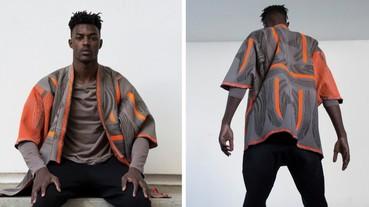 設計師大玩 YEEZY BOOST 350 v2 布料 變成超潮的日本傳統服裝!