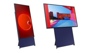 三星在 CES 上推出可旋轉電視,可直向或橫向滿版播放內容