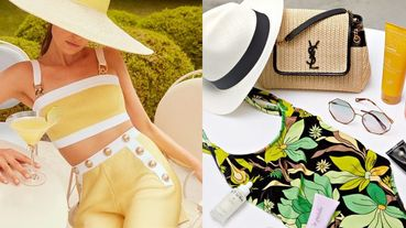 精品電商24S下殺3折!編織包、草帽、涼鞋…編輯嚴選15款「夏日海灘必備單品」,現在買一路穿到十月