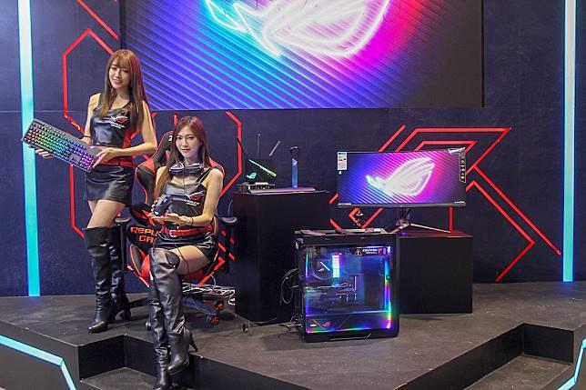 Republic Of Games攤位主打入門電競和打機產品系列。