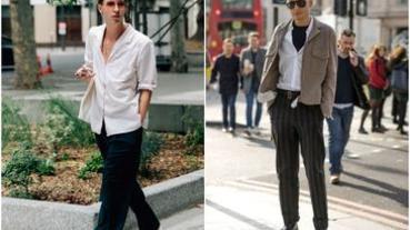 誰說白襯衫就是無聊?善用「白襯衫」讓你5分鐘穿出質感型男印象!