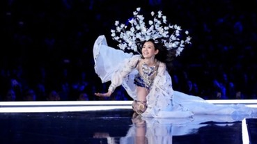 「維多利亞的秘密」上海大秀 中國超模大跌跤意外成為焦點!
