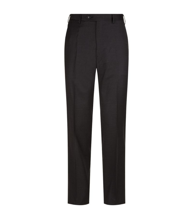 Created in the heart of Rome by sartorial visionary, Brioni, these tailored trousers have been metic