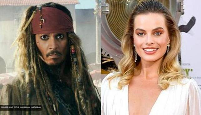 Margot Robbie pengganti Johnny Depp (republicworld.com)