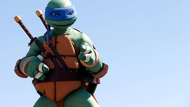 Kostum Leonardo Kura Kura Ninja Dilelang Rp 142 Jutaan Minat Telset Line Today