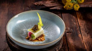 不時不食!台南粵菜餐廳秋季創意新菜上桌 形色、口感皆美