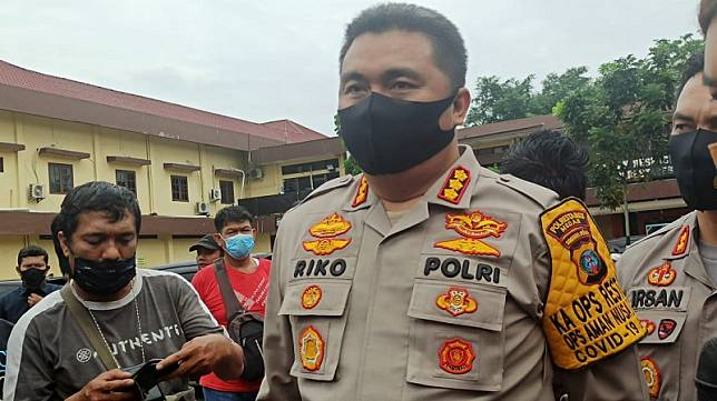 Kapolrestabes Medan, Kombes Pol Riko Sunarko. (Foto: istimewa)