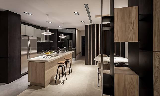 3. 高質感的中島廚房