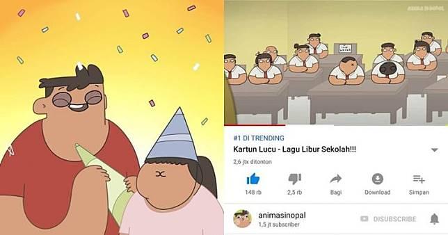 89+ Gambar Animasi Lucu Ramadhan Paling Hist
