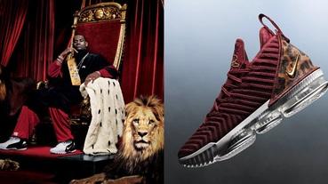新聞分享 / 重現經典海報 Nike LeBron 16 'King' 將與 LeBron 一起展開新球季