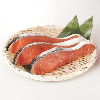 塩銀鮭切身(甘口) 4切