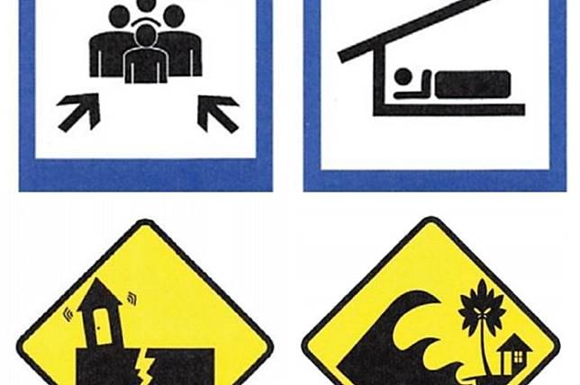 Berbagai Rambu dan Papan Informasi Bencana yang Mesti Dipahami