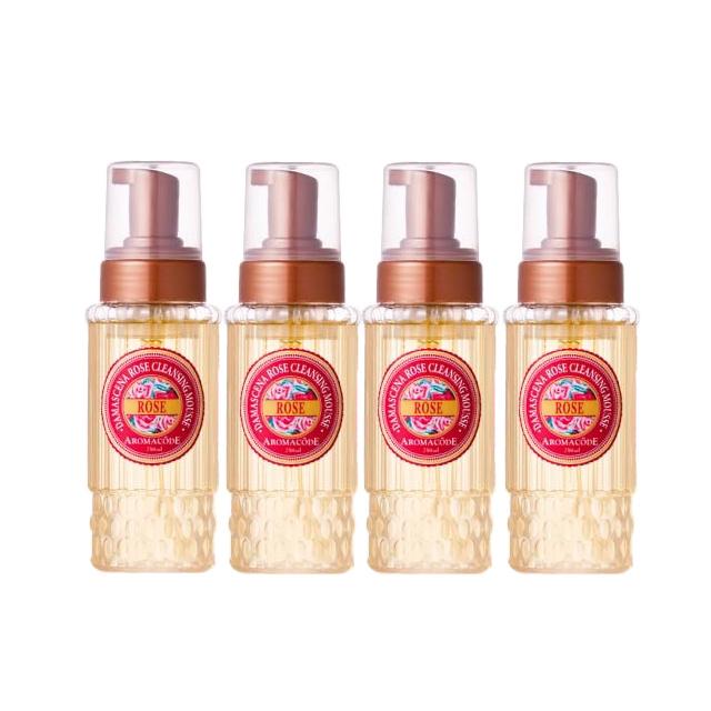 享受一個人的芳香時光採用珍貴的大馬士革玫瑰因子萃取在洗臉卸妝同時,心靈與身體都得到滋養了! 清潔卸妝保溼淨白也全面一氣呵成!❒ 本組合含:大馬士革玫瑰氨基酸淨白洗卸二用慕絲 250ml x 4