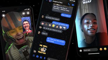 Facebook Messenger 星際大戰聊天室主題、貼圖、限時動態濾鏡(使用教學)